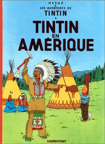 Tintin en Amerique 1st 2004 edition cover