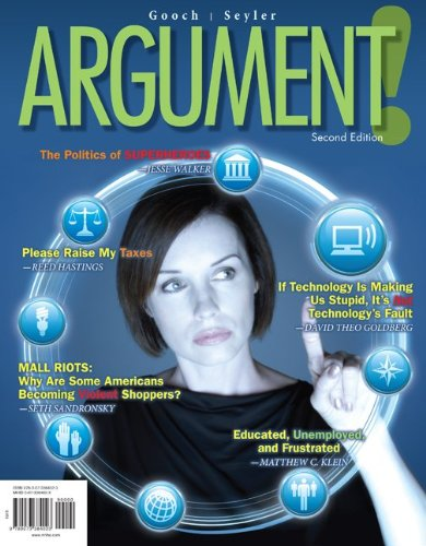 Argument!  2nd 2013 edition cover
