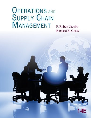 Operations and Supply Chain Management  14th 2014 9780078024023 Front Cover