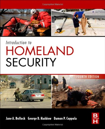 Introduction to Homeland Security Principles of All-Hazards Risk Management 4th 2012 edition cover