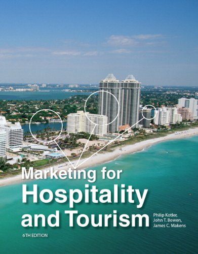 Marketing for Hospitality and Tourism  6th 2014 9780132784023 Front Cover