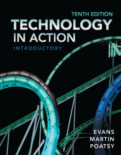 Technology in Action, Introductory  10th 2014 edition cover