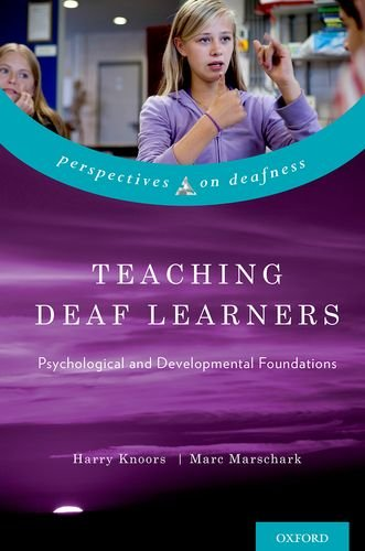 Teaching Deaf Learners Psychological and Developmental Foundations  2014 edition cover