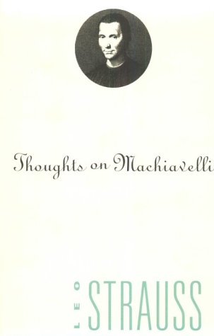 Thoughts on Machiavelli  N/A edition cover