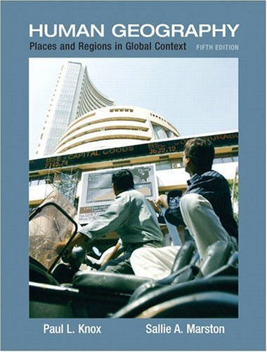 Places and Regions in Global Context Human Geography 5th 2010 edition cover
