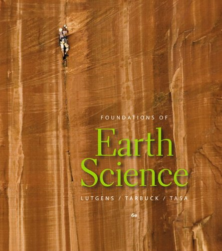 Foundations of Earth Science  6th 2011 edition cover