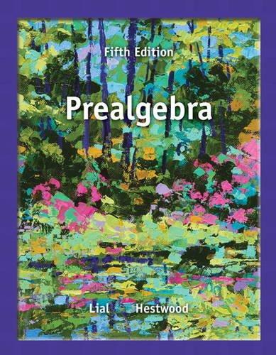 Prealgebra  5th 2014 edition cover