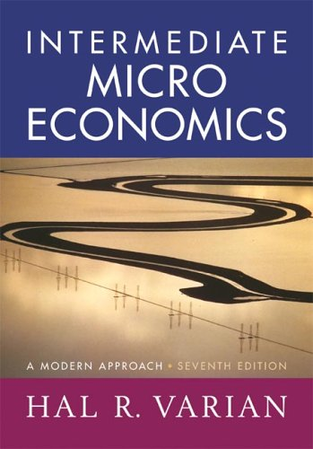 Intermediate Microeconomics A Modern Approach 7th 2006 (Revised) edition cover
