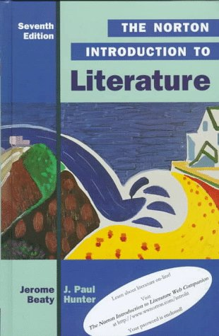 Norton Introduction to Literature  7th 1998 edition cover