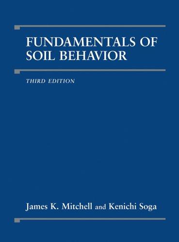 Fundamentals of Soil Behavior  3rd 2005 (Revised) 9780471463023 Front Cover