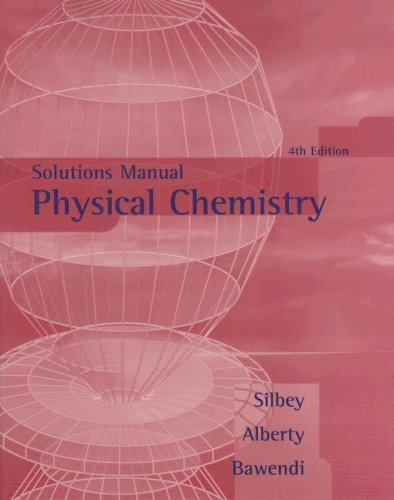 Physical Chemistry  4th 2005 edition cover