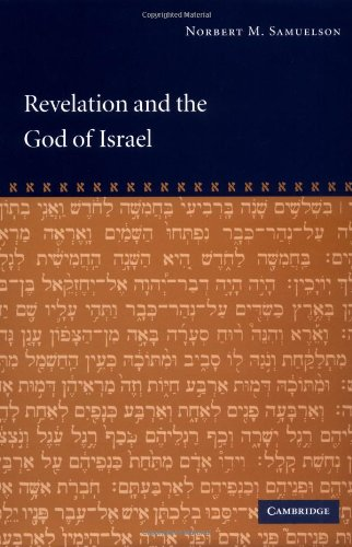 Revelation and the God of Israel   2002 9780521812023 Front Cover