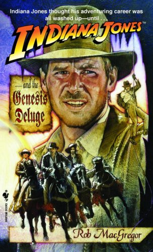 Indiana Jones and the Genesis Deluge  N/A 9780553295023 Front Cover