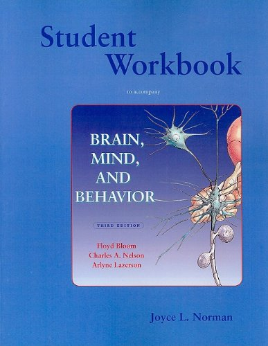 Brain, Mind, and Behavior  3rd 2001 (Guide (Pupil's)) edition cover