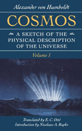 Cosmos A Sketch of the Physical Description of the Universe  1997 (Reprint) edition cover