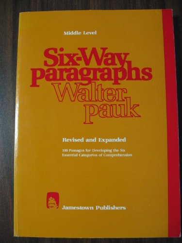 Six-Way Paragraphs Middle Level N/A edition cover