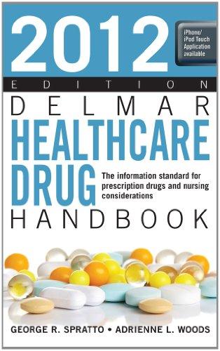 2012 Delmar Healthcare Drug Handbook   2012 9781133278023 Front Cover
