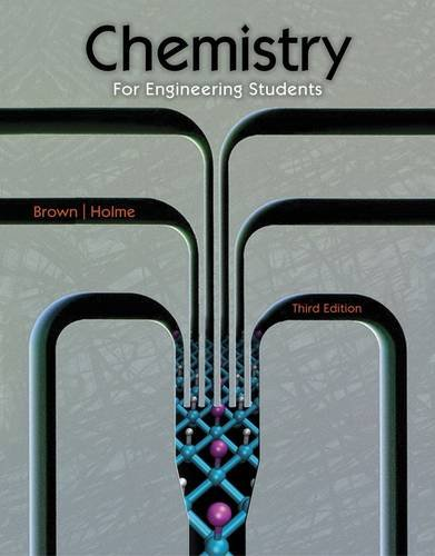 Chemistry for Engineering Students:   2014 edition cover