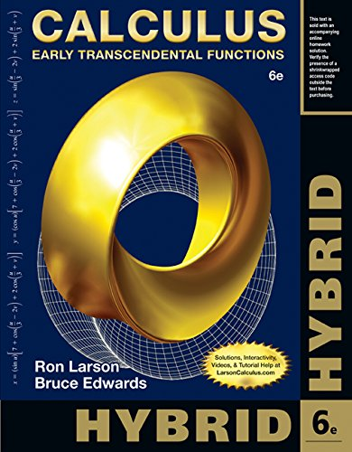 Calculus, Hybrid + Enhanced Webassign Homework and Ebook Loe Printed Access Card for Multi Term Math and Science: Early Transcendental Functions  2014 edition cover