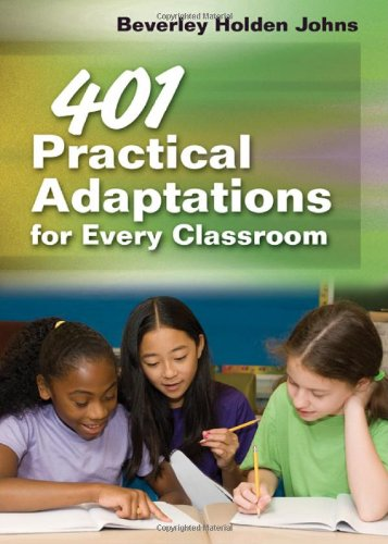 401 Practical Adaptations for Every Classroom   2011 edition cover