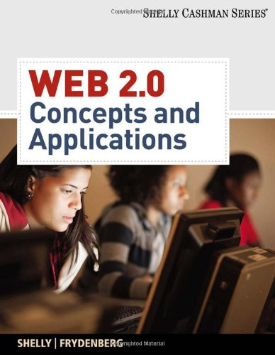Web 2. 0 Concepts and Applications  2011 edition cover