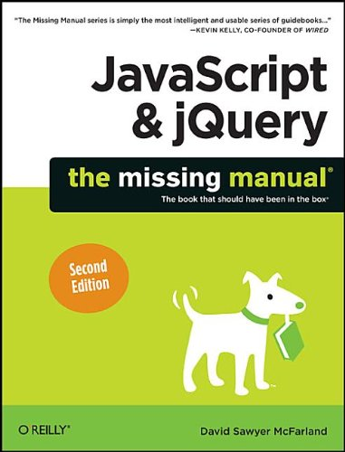 JavaScript and JQuery  2nd 2011 edition cover