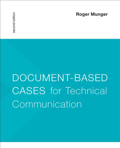 Document-Based Cases for Technical Communication  2nd 2013 edition cover