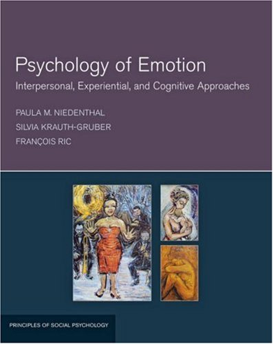 Psychology of Emotion Interpersonal, Experiential, and Cognitive Approaches  2006 edition cover