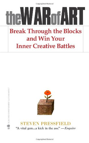War of Art Break Through the Blocks and Win Your Inner Creative Battles  2002 9781936891023 Front Cover