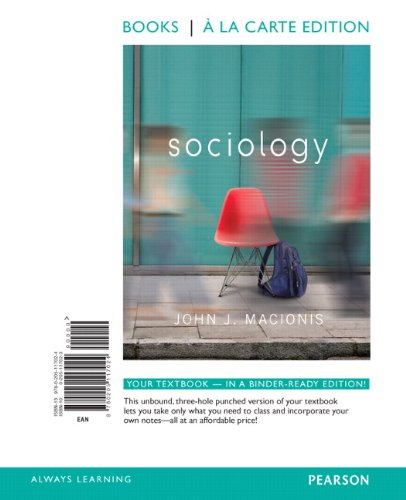 Sociology  14th 2012 edition cover