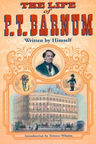 Life of P. T. Barnum, Written by Himself   2000 edition cover