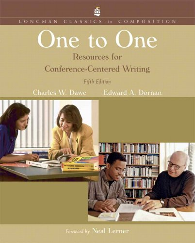 One to One Resources for Conference-Centered Writing 5th 2007 edition cover