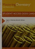 MasteringChemistry with Pearson EText -- Standalone Access Card -- for Organic Chemistry  7th 2014 edition cover