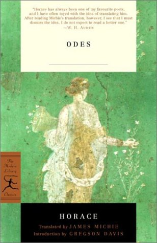 Odes With the Latin Text  2001 edition cover