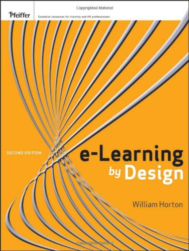 E-Learning by Design  2nd 2012 edition cover