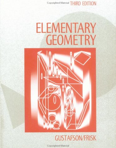 Elementary Geometry  3rd 1991 (Revised) edition cover
