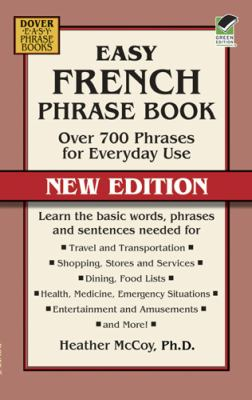Easy French Phrase Book NEW EDITION Over 700 Phrases for Everyday Use  2012 edition cover