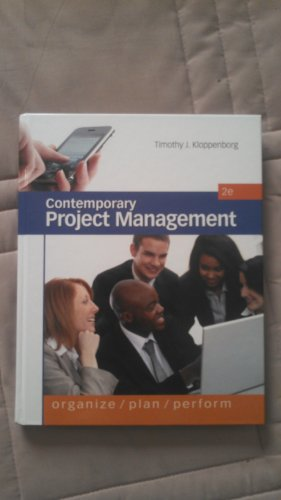CONTEMPORARY PROJECT MANAGEMEN N/A edition cover