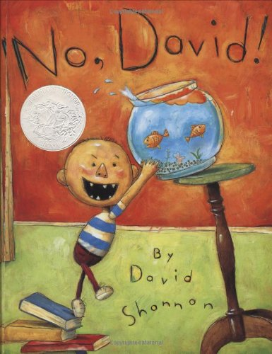 No, David!   1998 9780590930024 Front Cover