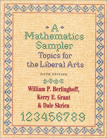 Mathematics Sampler Topics for the Liberal Arts 5th 2001 (Revised) edition cover