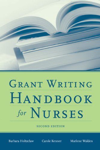 Grant Writing Handbook for Nurses  2nd 2009 (Revised) edition cover