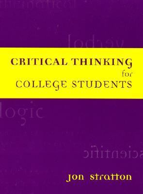Critical Thinking for College Students  N/A edition cover
