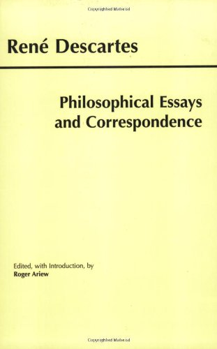 Philosophical Essays and Correspondence   2000 edition cover