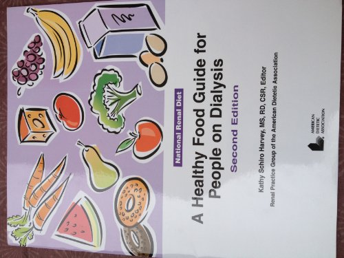Healthy Food Guide for People on Dialysis  2nd 2002 edition cover