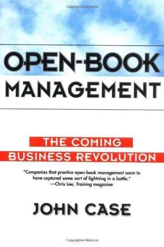 Open-Book Management The Coming Business Revolution  1996 edition cover
