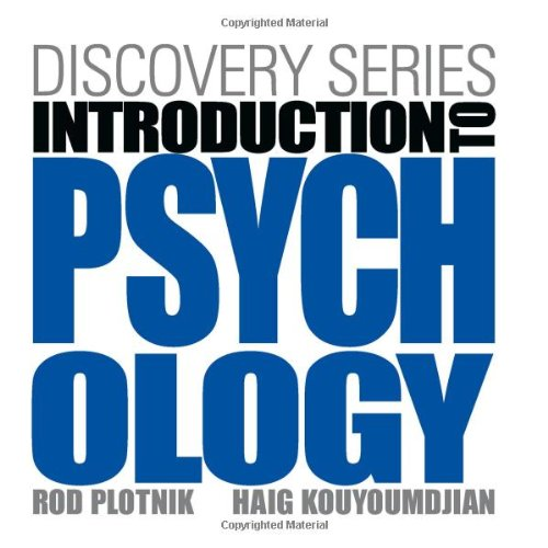 Introduction to Psychology   2013 edition cover