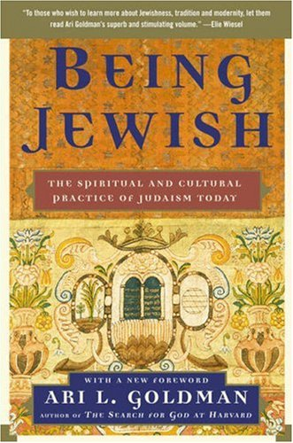 Being Jewish The Spiritual and Cultural Practice of Judaism Today N/A edition cover
