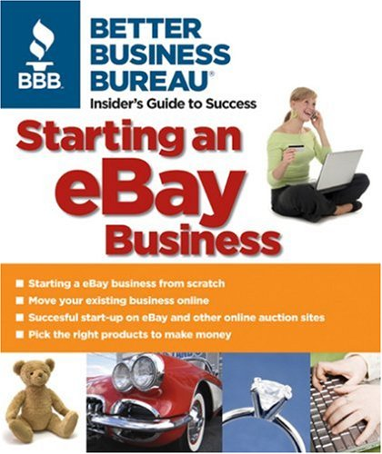 Starting an eBay Business N/A 9781933895024 Front Cover