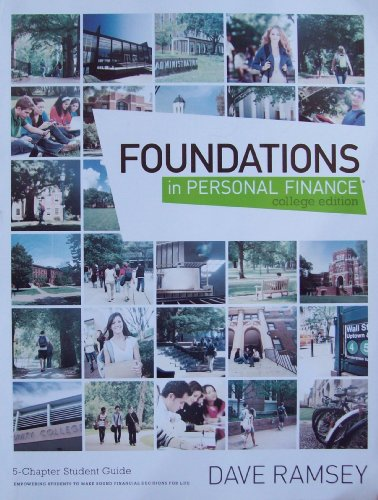 FOUNDATIONS IN PERSONAL...(COL N/A edition cover