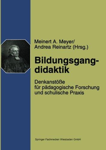 Bildungsgangdidaktik   1998 9783810020024 Front Cover